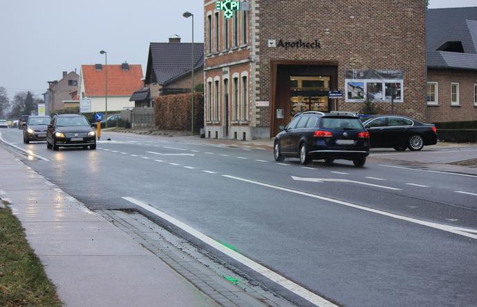 Kruispunt Tiensesteenweg (N29), Schoolstraat en Bunsbeekdorp