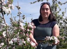 Dorien Boels, jongerenverantwoordelijke N-VA Glabbeek, projectoproepen voor meer natuur in Glabbeek
