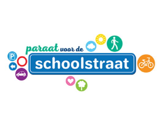 Paraat voor de schoolstraat