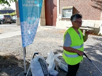 World Cleanup Day in Glabbeek